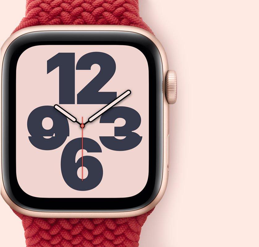 ساعة ابل اس اى (جي بي اس) هيكل ألومنيوم 44 مم مع سوار رياضي – Life Orbit